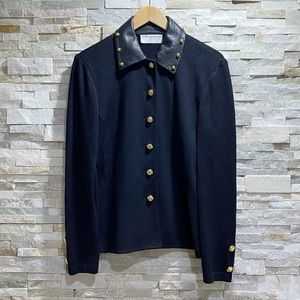 St. John Collection by Marie Gray Black Blazer